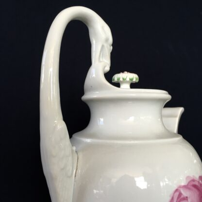 Meissen coffee pot with rose pattern, 19th century -18754