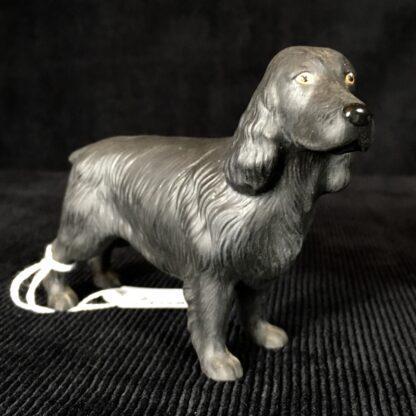 Black Cocker Spaniel figure, by Country Life bone china, 20th c.-18934