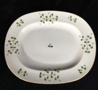 Minton serving dish, cornflower pattern, dated 1883-0