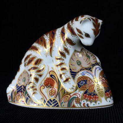 Derby Imari paper weight, Bengal Tiger Cub -0