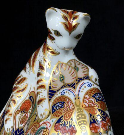 Derby Imari paper weight, Bengal Tiger Cub -19400
