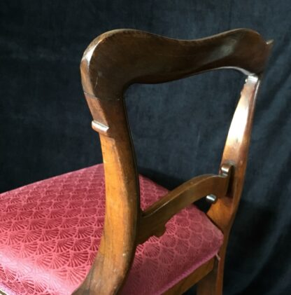 Four Rosewood chairs, circa 1850-19416