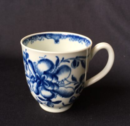 Worcester Mansfield pattern coffee cup & saucer, C. 1770 -20404