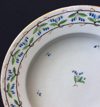 Vienna plate, unusual vine motif, dated 1800 -20322