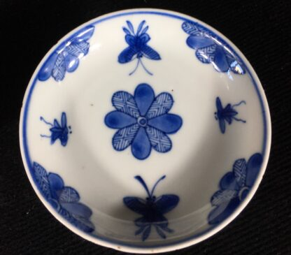 Chinese teabowl & saucer c.1720 -20221