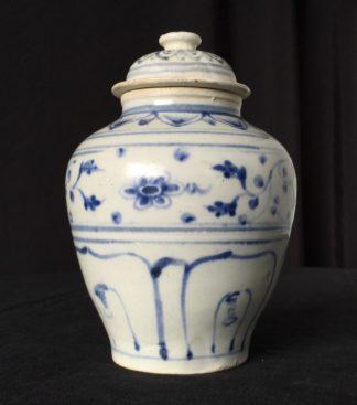 Hoi An shipwreck covered jar, Vietnamese, 15th century-0
