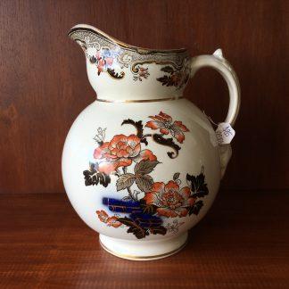 Victorian jug, 'IVORY' ware, Oriental garden pattern, c. 1880 -0
