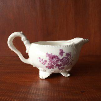 Daniel Second Gadroon shape jug printed in puce, C. 1826 -0