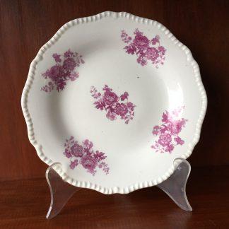 Daniel plate, printed purple pattern 4309, c.1826-0