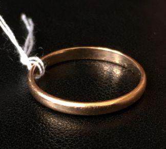 Gold ring, 9 carat, Birmingham 1931 -0