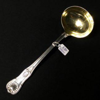 Kings Pattern .800 Silver sauce ladle, German c.1900 -0