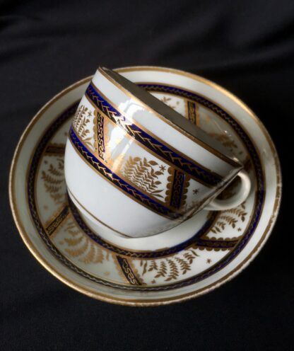Newhall cup & saucer, pattern 583, C. 1800 -21145