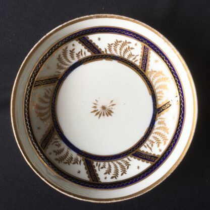 Newhall cup & saucer, pattern 583, C. 1800 -21143
