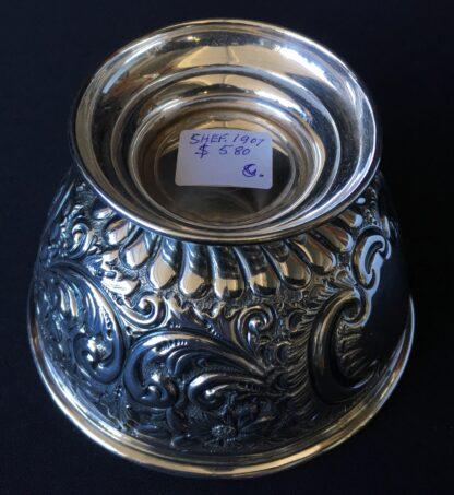 Sterling Silver trophy bowl, Hong Kong rowing 1908, Sheffield 1907-21445