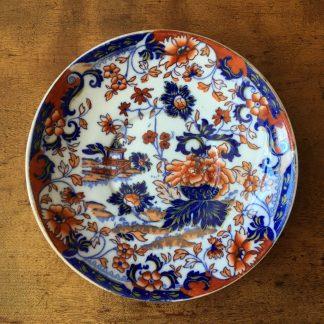 Minton saucer dish, Amherst Japan pattern no. 824, circa 1830-0