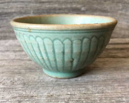 Chinese celadon bowl, Lungchuan ware, Yuan dynasty, 14th century AD -0