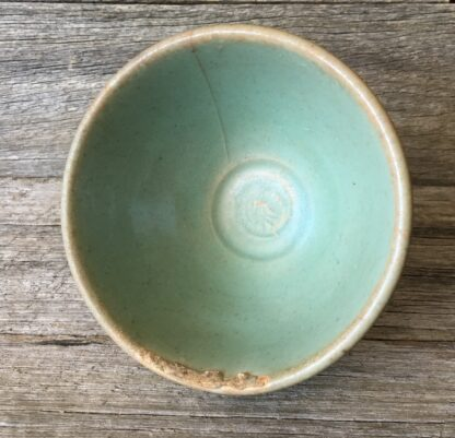 Chinese celadon bowl, Lungchuan ware, Yuan dynasty, 14th century AD -22201
