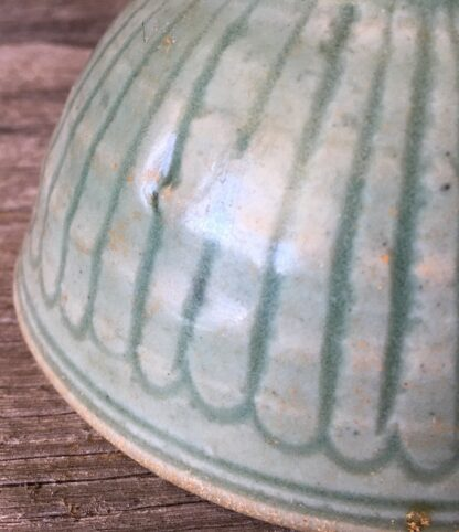Chinese celadon bowl, Lungchuan ware, Yuan dynasty, 14th century AD -22205