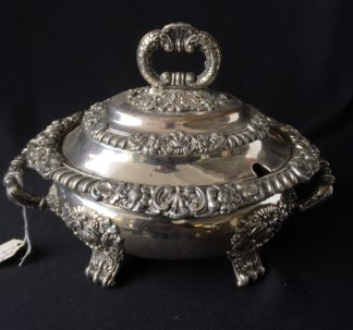 Small Old Sheffield Plate sauce tureen, c.1825-0