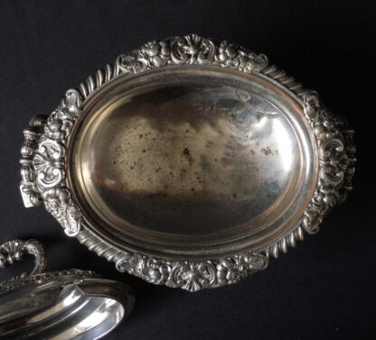 Small Old Sheffield Plate sauce tureen, c.1825-21896