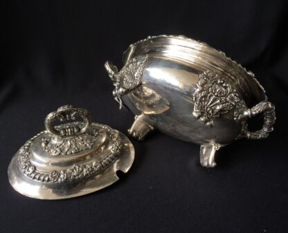 Small Old Sheffield Plate sauce tureen, c.1825-21897
