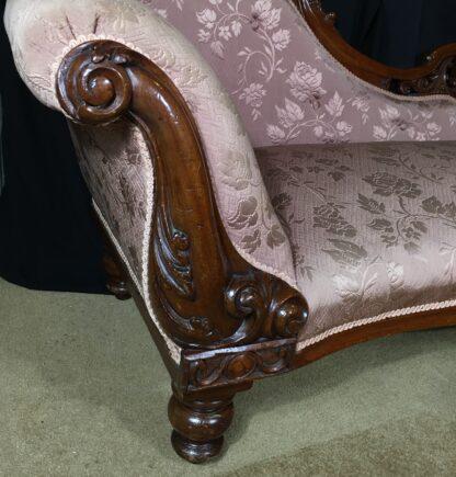 Australian Cedar chaise lounge, circa 1865 -21886