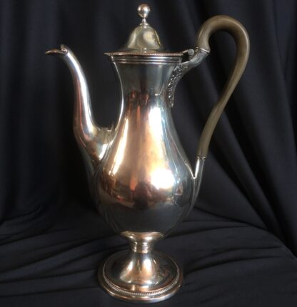 Continental rolled plate coffee pot. c1790-21970