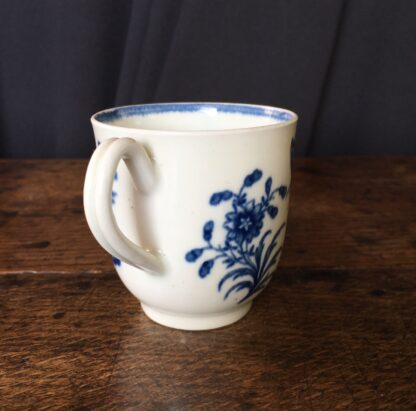 Worcester coffee cup 'three flowers' pattern, C. 1775 -22656