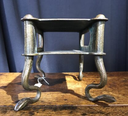 Bronze stand with snake feet, 18th century or earlier-22672