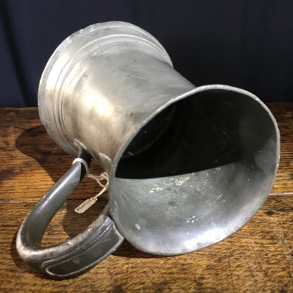 Victorian Pewter pint tankard, 19th century-22413