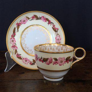 Flight Barr & Barr cup & saucer, c.1810-13-0