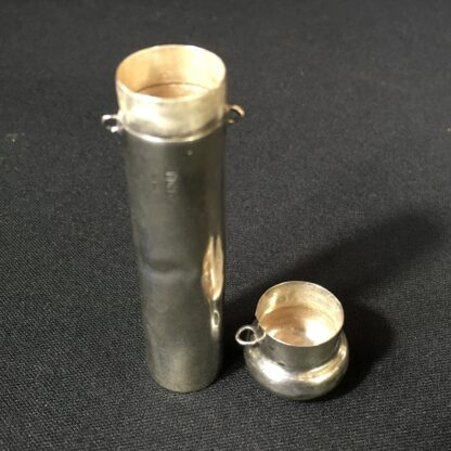 Birmingham sterling sliver lidded powder canister, Hallmarked 1912-22804