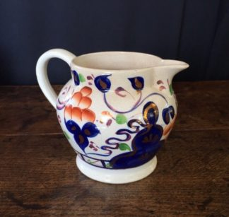 English 'Gaudy Welsh' jug, c. 1850. -0
