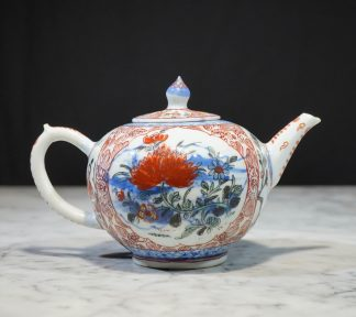 Chinese porcelain decorated in Europ