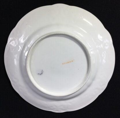 Swansea porcelain plate with flower specimens, C. 1820-25575