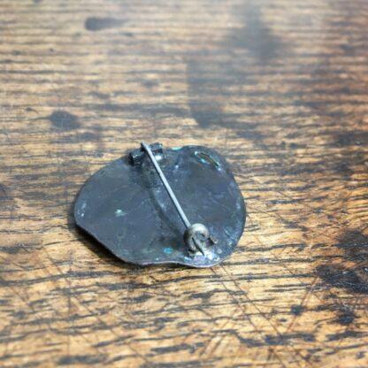 Arts & Crafts bronze brooch, leaf form, c. 1920-24604