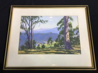 Horace Webber, Watercolour - Australian landscape, mid 20th century-0