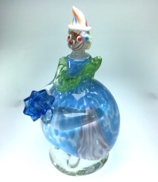 Italian Murano glass clown decanter, mid 20th century -0