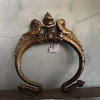 Indian Bronze bracelet with parrots, Punjab 19th century-0
