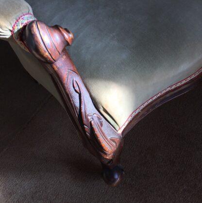 Victorian Cedar Gents chair, c. 1875 -24992