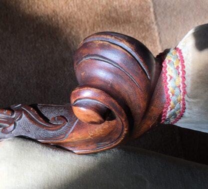 Victorian Cedar Gents chair, c. 1875 -24995