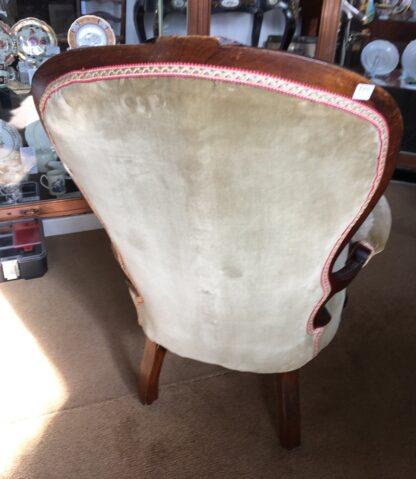 Victorian Cedar Gents chair, c. 1875 -24996
