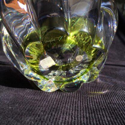 Orrefors Swedish glass 'daisy' bowl, mid 20th century -26080