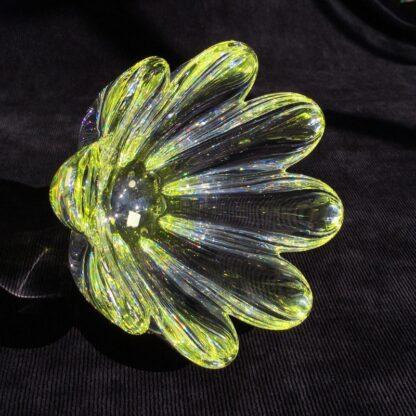 Orrefors Swedish glass 'daisy' bowl, mid 20th century -26078