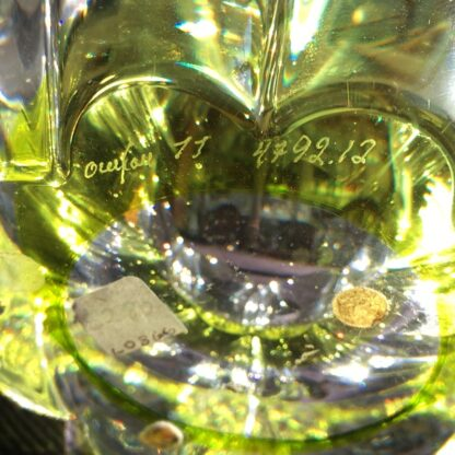 Orrefors Swedish glass 'daisy' bowl, mid 20th century -26079