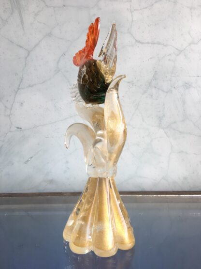 Murano Glass 'tropical fish' sculpture, mid 20th century-25782