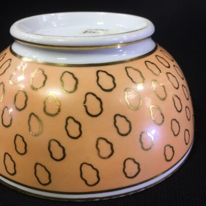 Chamberlains Worcester bowl, fawn & gold dec, C. 1815 -25288