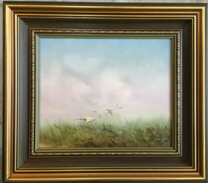 Lucette DaLozzo oil painting - 'Light as the Wind' c.1975-0