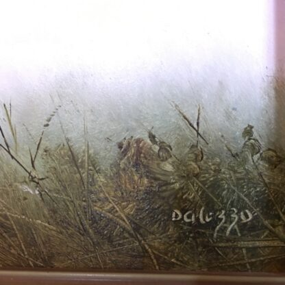 Lucette DaLozzo oil painting - 'Light as the Wind' c.1975-26165