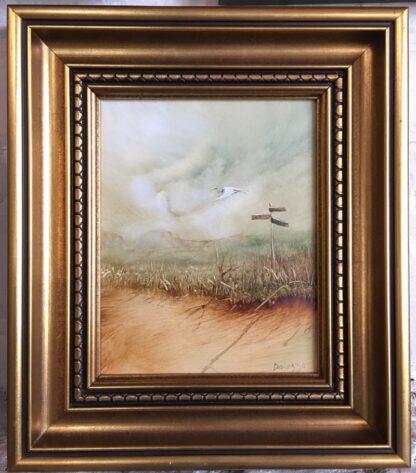 Lucette DaLozzo oil painting - 'Migratory Bird' c.1975-25938